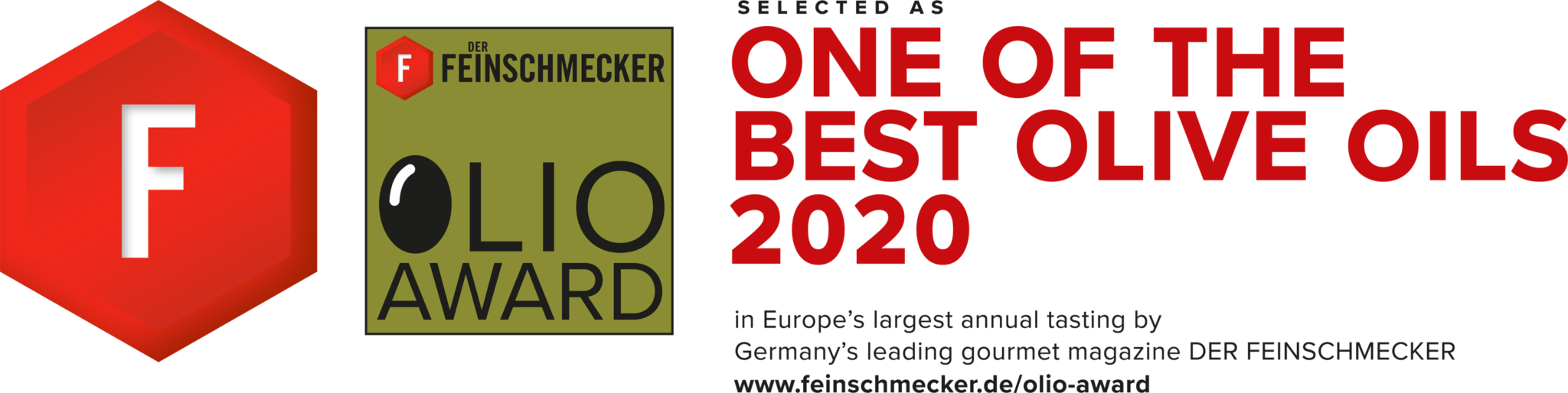 DER FEINSCHMECKER Congratulations Olio Award